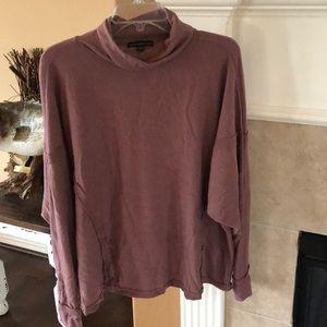 Soft Oversized Turtleneck Sweat shirt